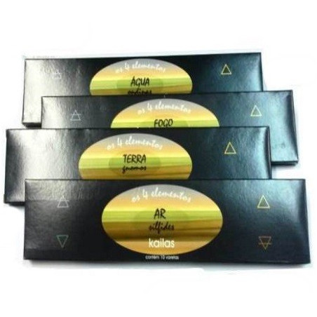 incenso dos 4 elementos – pacote – kailas