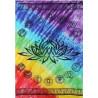 toalha chakras lotus – 147cm x 208cm