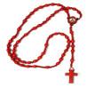 terço de santo expedito – madeira vermelha