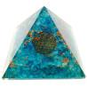 pirâmide orgonite topazio azul – 7 x 7