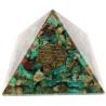 pirâmide orgonite crisocola – 7 x 7