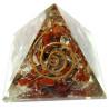 pirâmide orgonite jaspe e quartzo – 4 x 4