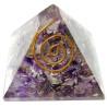 pirâmide orgonite ametista – 4 x 4