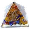 pirâmide orgonite – 4 x 4