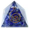 pirâmide orgonite lapis lazuli – 4 x 4