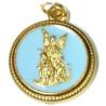 medalha anjo da guarda – azul