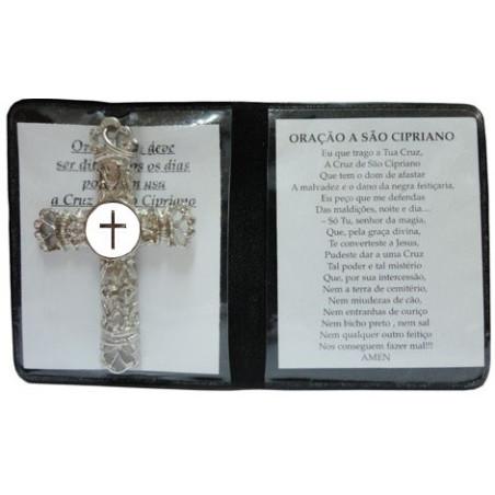 cruz de são cipriano – fundo branco