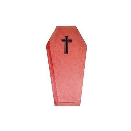 caixão vermelho para rituais