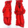bonecos de pano – casal vermelho
