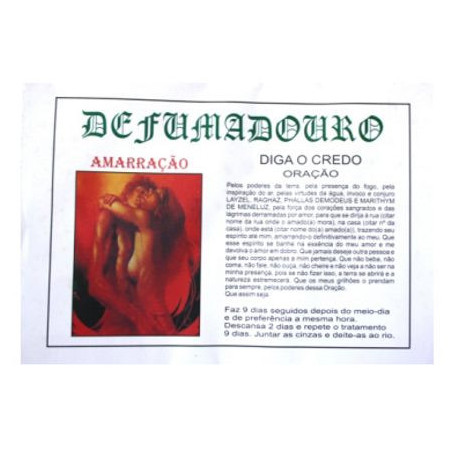 Defumadouro- Amarração