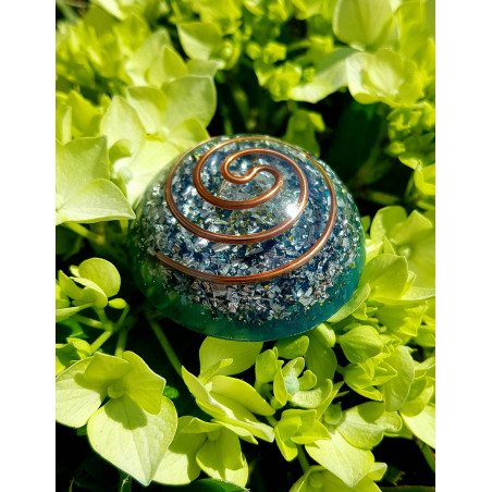 ORGONITE - MINI TOWER BUSTER - Azul