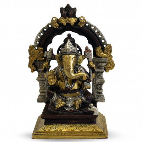Trono de Ganesha - Acabamentos em Latão