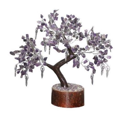 Árvore da Amizade/Cura - Amestista com Deusas