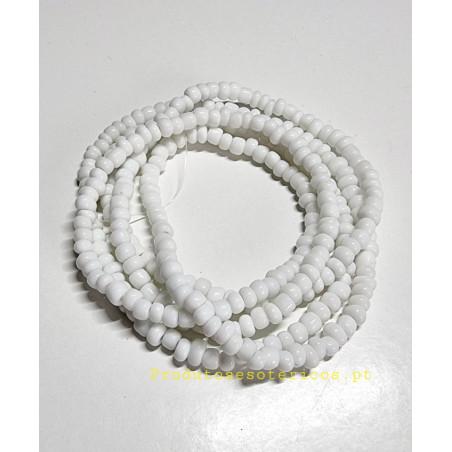 Guia de Missangão Branco Cristal