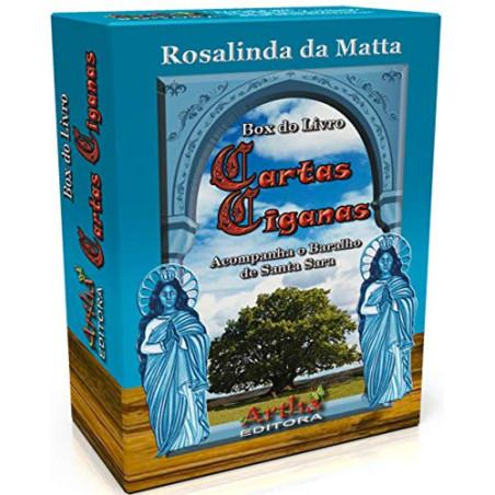 Cartas Ciganas (Livro + Baralho de Santa Sara) - Editora Artha