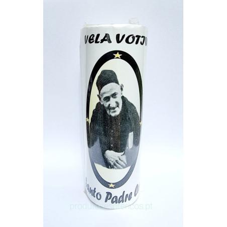 Vela Votiva Santo Padre Cruz