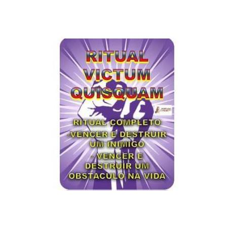 ritual victum quisquam