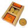 vela tealight canela – conjunto 6